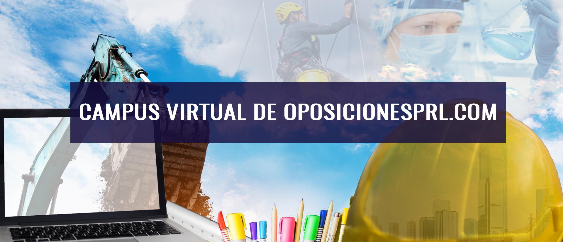 Campus virtual de Oposiciones PRL